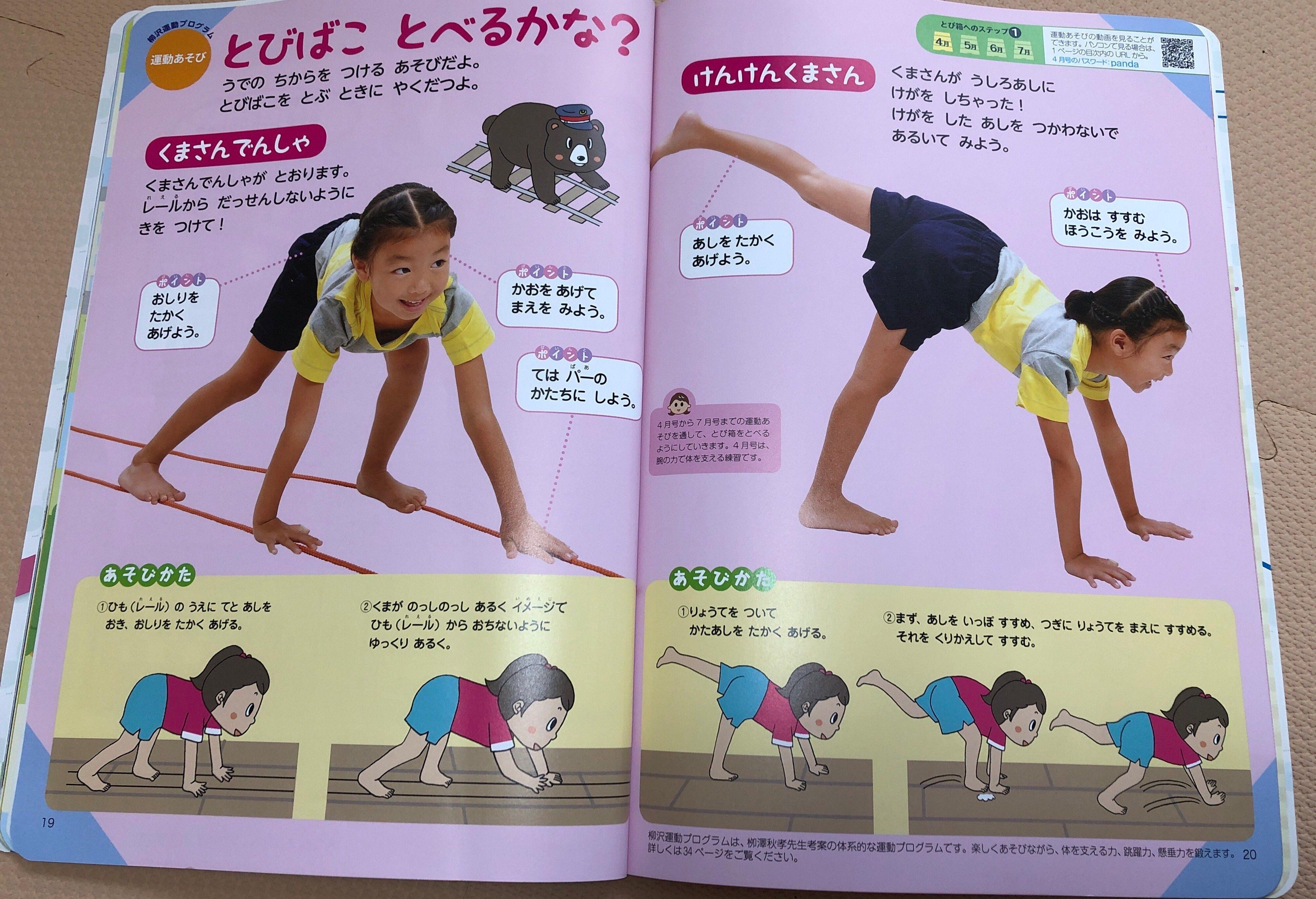 運動のページ